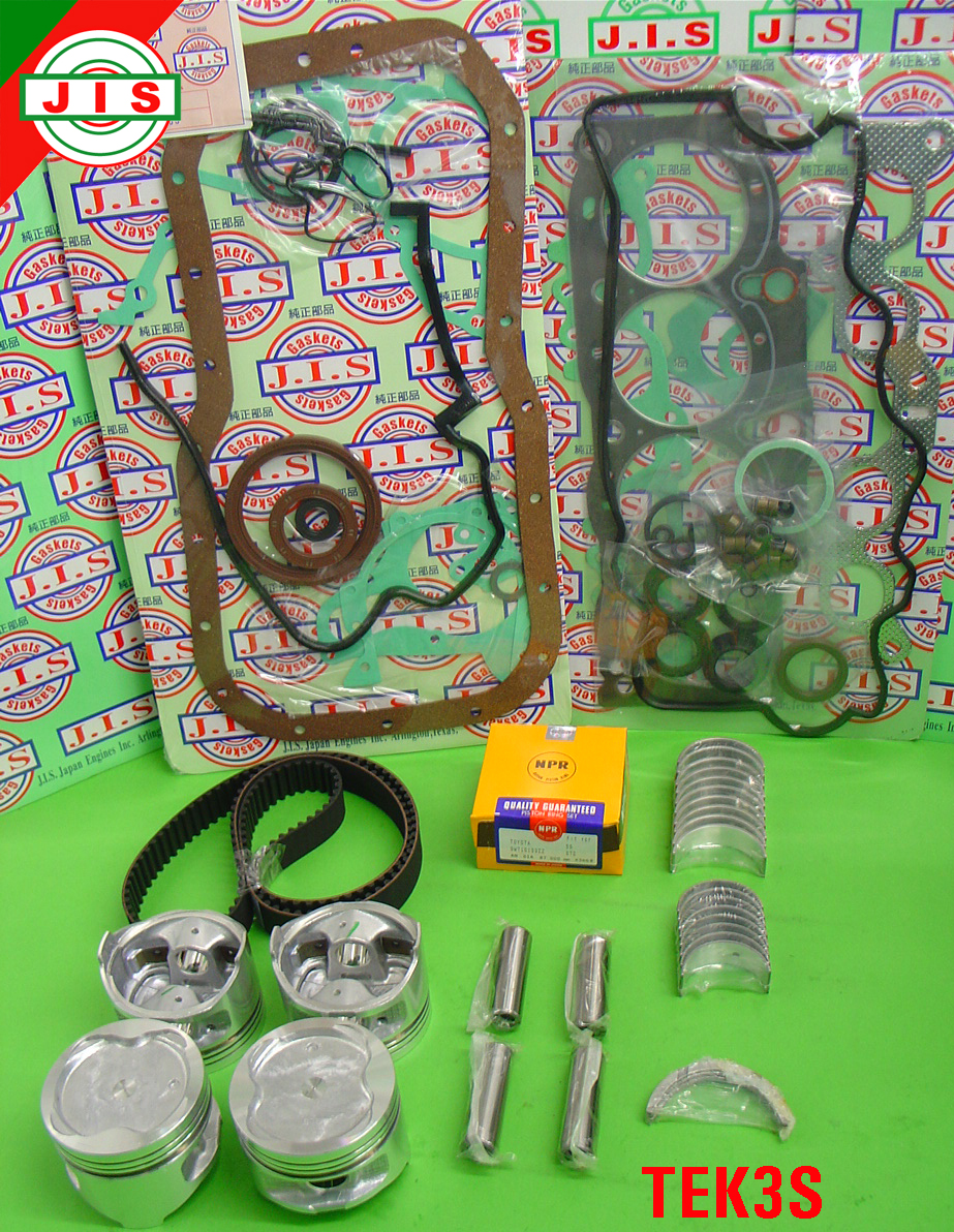 87 91 Toyota Camry 3SFE 2 0L Engine Rebuild Kit TEK3S on