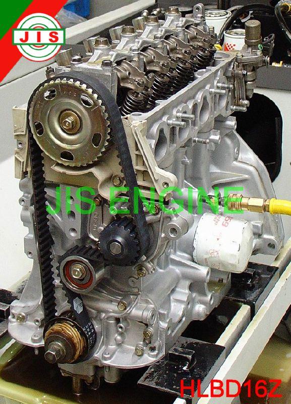 Honda 92 95 Civic Ex Si 1 6l Del Sol Si D16z6 Engine Long Block Hlbd16z Ebay