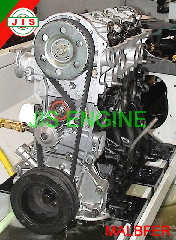 mazda 85 87 b2000 fe engine long block malbfer ebay. Black Bedroom Furniture Sets. Home Design Ideas