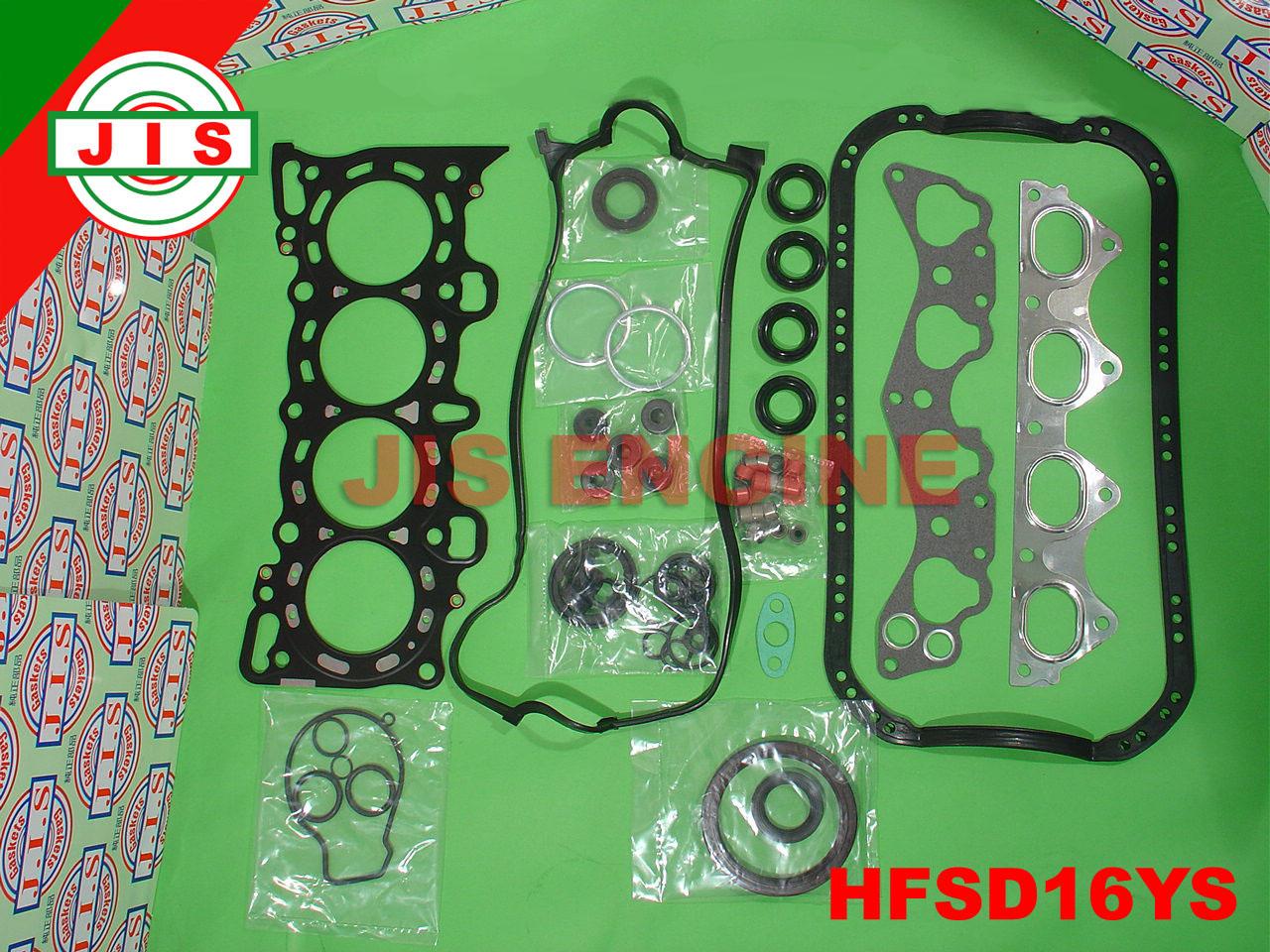 Honda 96 00 Civic Del Sol D16Y7 D16Y8 Full Gasket Set HFSD16YS